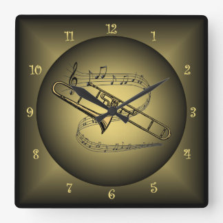 Musical Instruments Wall Clocks Zazzle