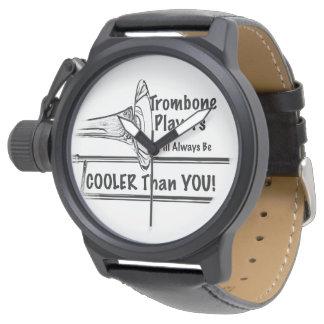 Trombone Musician Cooler than You Wrist Watch