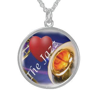 Trombone Musician Love Key Jewelry Necklace