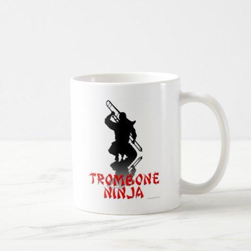 Trombone Ninja Mug