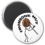Trombone Nut 2 Inch Round Magnet