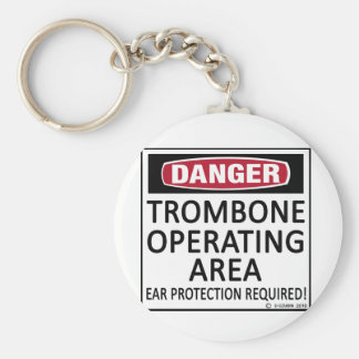 Trombone Operating Area Key Chains