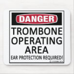 Trombone Operating Area Mouse Pad