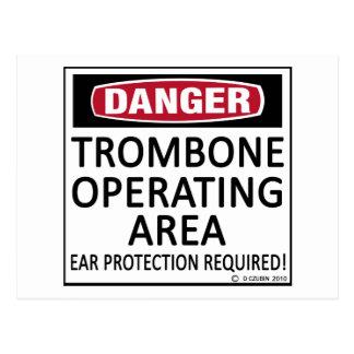 Trombone Operating Area Post Cards