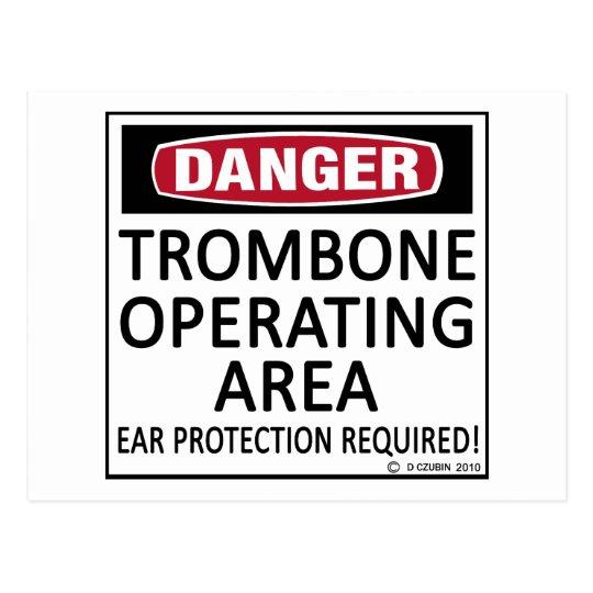 Trombone Operating Area Postcard