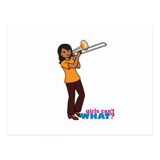 Trombone-player 1 postcard