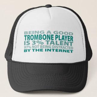 Trombone Player 3% Talent Trucker Hat