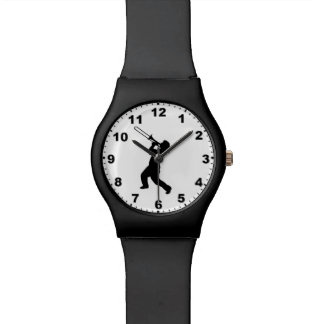 """Trombone Player"" design wrist watches"