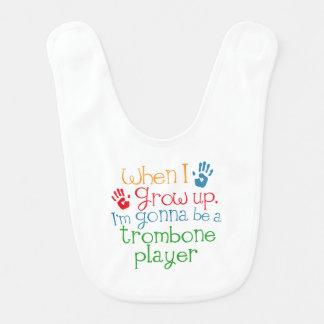 Trombone Player (Future) Child Bibs