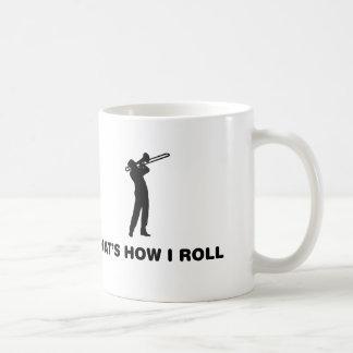 Trombone Player Classic White Coffee Mug