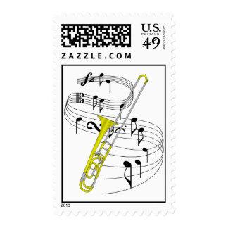 Trombone Stamp