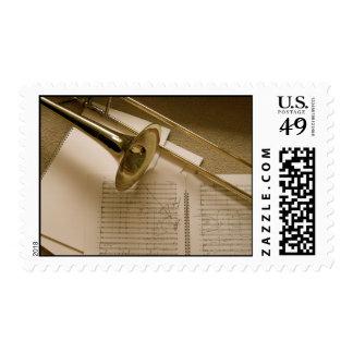 Trombone postage