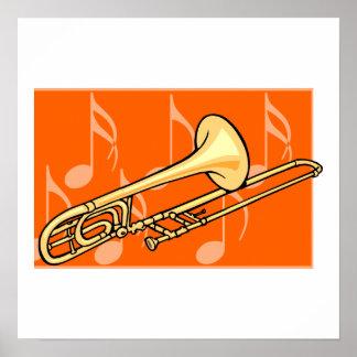 Trombone Print