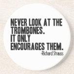 Trombone Quote Coaster
