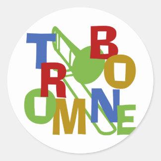 Trombone Scramble Sticker