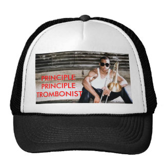 trombone_shorty, PRINCIPLE PRINCIPLE TROMBONIST Trucker Hat