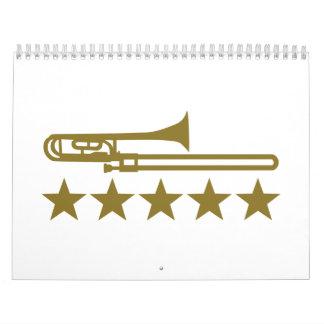 Trombone stars calendar