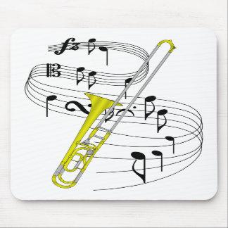 Trombone Tapetes De Ratón