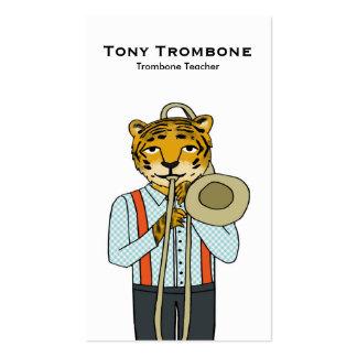 Trombone Teacher Business Card