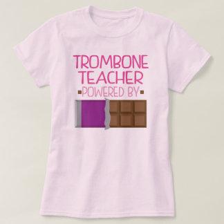 Trombone Teacher Chocolate Gift for Her T Shirt
