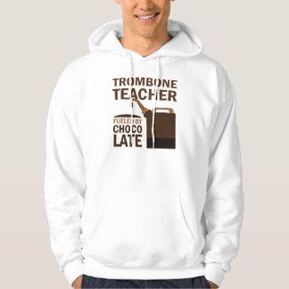 Trombone Teacher (Funny) Chocolate Pullover