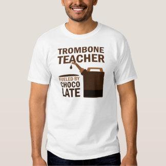 Trombone Teacher (Funny) Chocolate Tee Shirt
