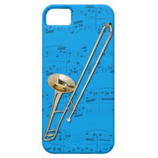 Trombone (tenor) phone case. Pick color iPhone SE/5/5s Case