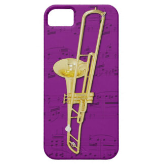 Trombone (valve) phone case. Pick color iPhone SE/5/5s Case
