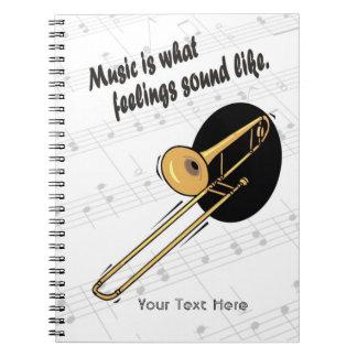 Trombone Version - What Feelings Sound Like Notebook