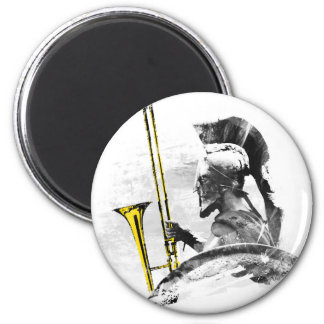 Trombone Warrior Magnet