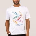 Trombones coloridos tee shirts