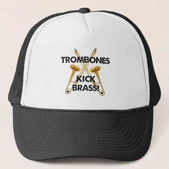 Trombones Kick Brass! Trucker Hat
