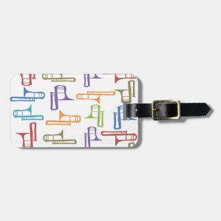 Trombones Luggage Tag
