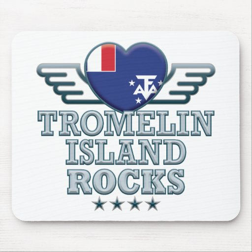 Tromelin Island Rocks Mouse Mat