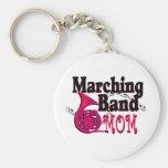 Trompa de la mama de la banda llavero personalizado