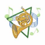 Trompa del concierto sudadera bordada