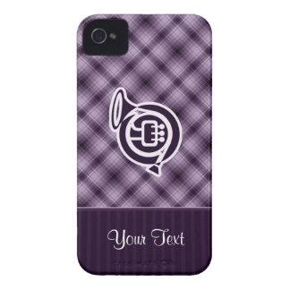 Trompa púrpura iPhone 4 protector