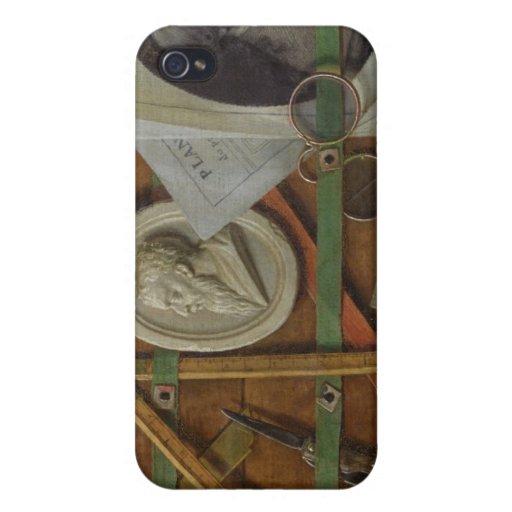 Trompe - l ' oeil, 1785 iPhone 4 carcasa