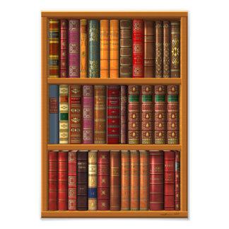 "Trompe - l ' oeil ""biblioteca francesa"". arte fotografico"