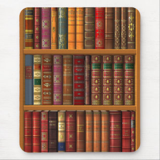 "Trompe - l ' oeil ""biblioteca francesa"". tapete de ratones"