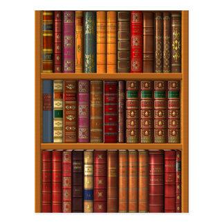 "Trompe - l ' oeil ""biblioteca francesa"". postales"