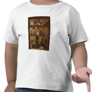 Trompe - l ' oeil con una figurilla de Hércules Camisetas