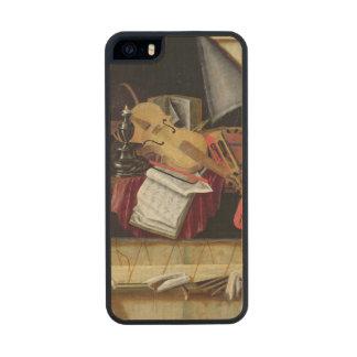 Trompe - l ' todavía del oeil vida, 1665 funda de arce carved® para iPhone 5