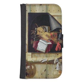 Trompe - l ' todavía del oeil vida, 1665 fundas tipo billetera para galaxy s4