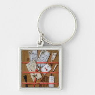 Trompe l'oeil, 1702 keychain