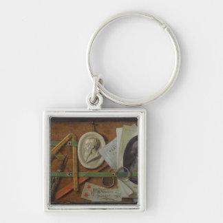 Trompe l'Oeil, 1785 Keychain
