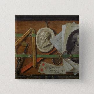 Trompe l'Oeil, 1785 Pinback Button
