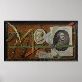 Trompe l'Oeil, 1785 Poster