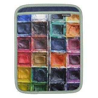Trompe L'oeil Artist's Palette iPad Case Sleeves For iPads