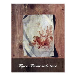 Trompe-L'Oeil By Füssli Johann Heinrich (Best Qual Custom Flyer